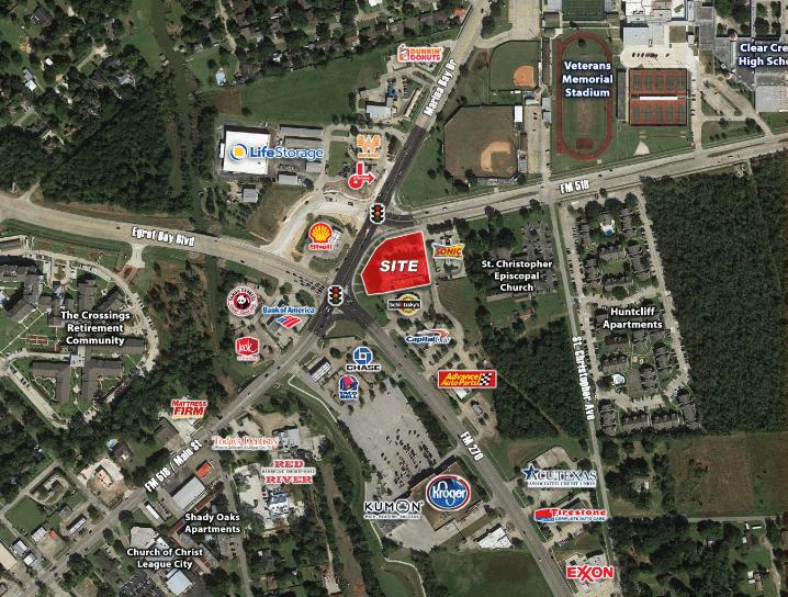 League City, TX - Five Points Retail Development