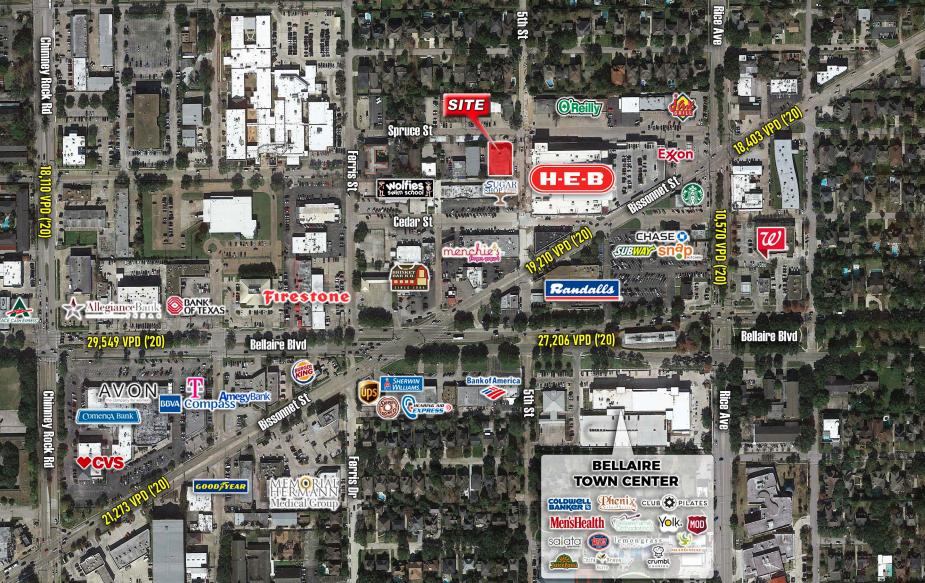 Bellaire, TX - 5201 Spruce Street