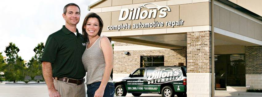 dillons automotive corey and wife
